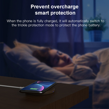 KEYSION  Wooden 10W Qi Fast Wireless Charger for all Phones