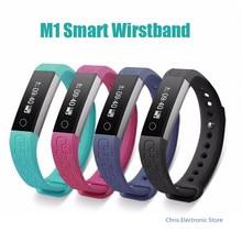 Mesuvida M1 смарт-Браслет Смарт браслет здоровья Фитнес трекер сердечного ритма Часы шагомер анти-потерянный для IOS Android