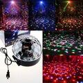EU/US Led  Channel  Control Digital LED DJ RGB Crystal Magic Ball Effect Light DMX Disco DJ Stage Lighting