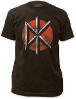 DEAD KENNEDYS Distressed Logo T SHIRT S M L XL 2XL Brand New Official T Shirt 100% cotton tee shirt, tops wholesale tee