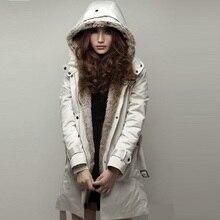 Новая европейская зимняя женская куртка теплая верхняя одежда пальто женская одежда зимние парки Пальто для беременных женский пуховик 1001