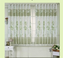 Chinese Traditional Bamboo Door Curtains Short Curtain For The Living  Room(China)
