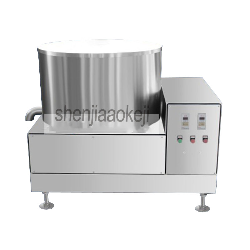 Vegetable dehydrator Stainless Steel Fried Food Deoiling Machine/vegetable dewatering/French Fries Oil Removing Machine 1pcVegetable dehydrator Stainless Steel Fried Food Deoiling Machine/vegetable dewatering/French Fries Oil Removing Machine 1pc