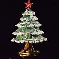 QIFU Metal Craft Beautiful Christmas Tree Decor for Jewelry Box