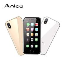 Anica i8 Mini Smartphone, Newmodel 2.45″ WCDMA 3G cep Telefonu Movi, 8GB GPS WiFi Box Speaker Celulares Mobile Phone android 6.0