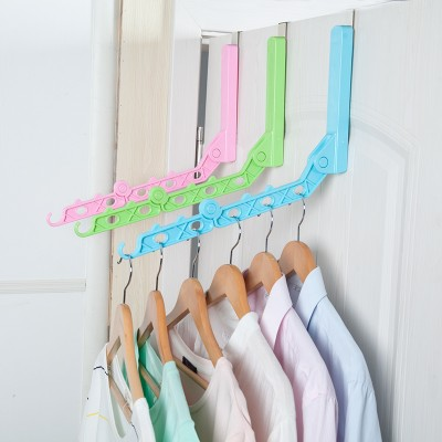 Indoor Free Punching And Folding Clothes Airing Rod Single Pole Simple Hanging Hanger 35 22cm In Drying Racks Nets From Home Garden