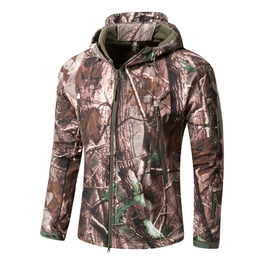 Lurker Shark Skin Soft Shell V4 Outdoors Military Tactical Jacket Men Waterproof Windproof Coat Hunt Camouflage Army Clothing lurker shark skin softshell v4 military tactical jacket sets men women waterproof windproof warm coat pants camouflage clothing