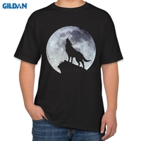 Latest Tshirts Fashion Summer Style Short Sleeve Wolf T Shirts Homme Funny Casual Fit Funny T
