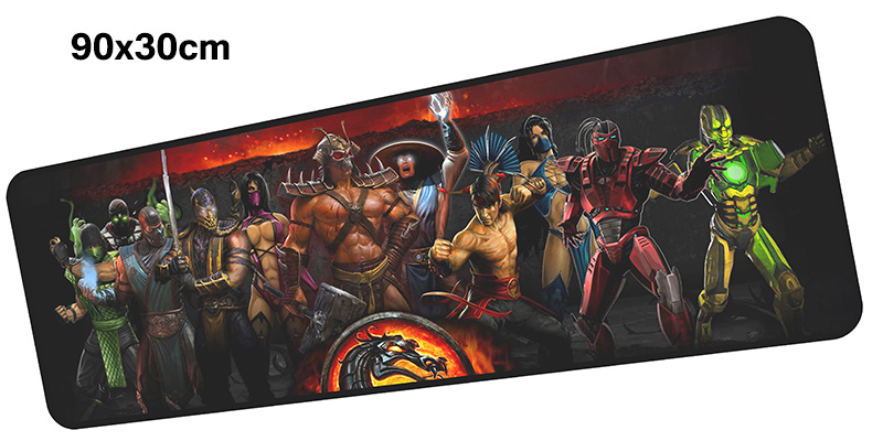 mortal kombat mouse pad gamer 900x300mm notbook mouse mat large gaming mousepad Adorable ...