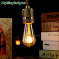 ST58 LED vintage lamp bulb Edison bulb 2W soft LED light 110V-220V decor bulb table lamp wall lamp holiday lights
