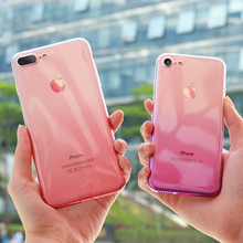 FLOVEME Per il iphone 6 6 S iPhone 7 8 Plus Ultra Sottile Casi Crystal Clear TPU Casse Del Telefono Per il iphone 5 S iPhone 5 SE hoesje Fundas(China)