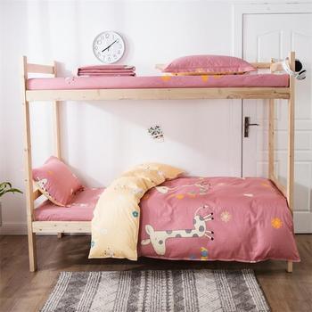 100% Cotton Bedding Sets Cartoon Deer 3pcs Bedding Sets