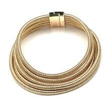 New design fashion Kim Kardashian magnet hook necklace collar necklace & pendant choker statement necklace maxi jewelry choker