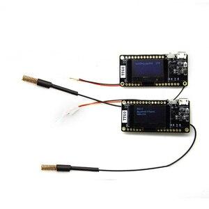 Image 3 - LILYGO® 2Pcs TTGO LORA32 V2.0 868/433Mhz ESP32 LoRa 0.96 Inch SD Card  Bluetooth WIFI ESP32 ESP 32 Module With Antenna
