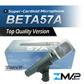 Free Shipping! Top Quality Version BETA57 Professional BETA57A Supercardioid Handheld Dynamic Wired Microphone Beta 57A 57 A Mic