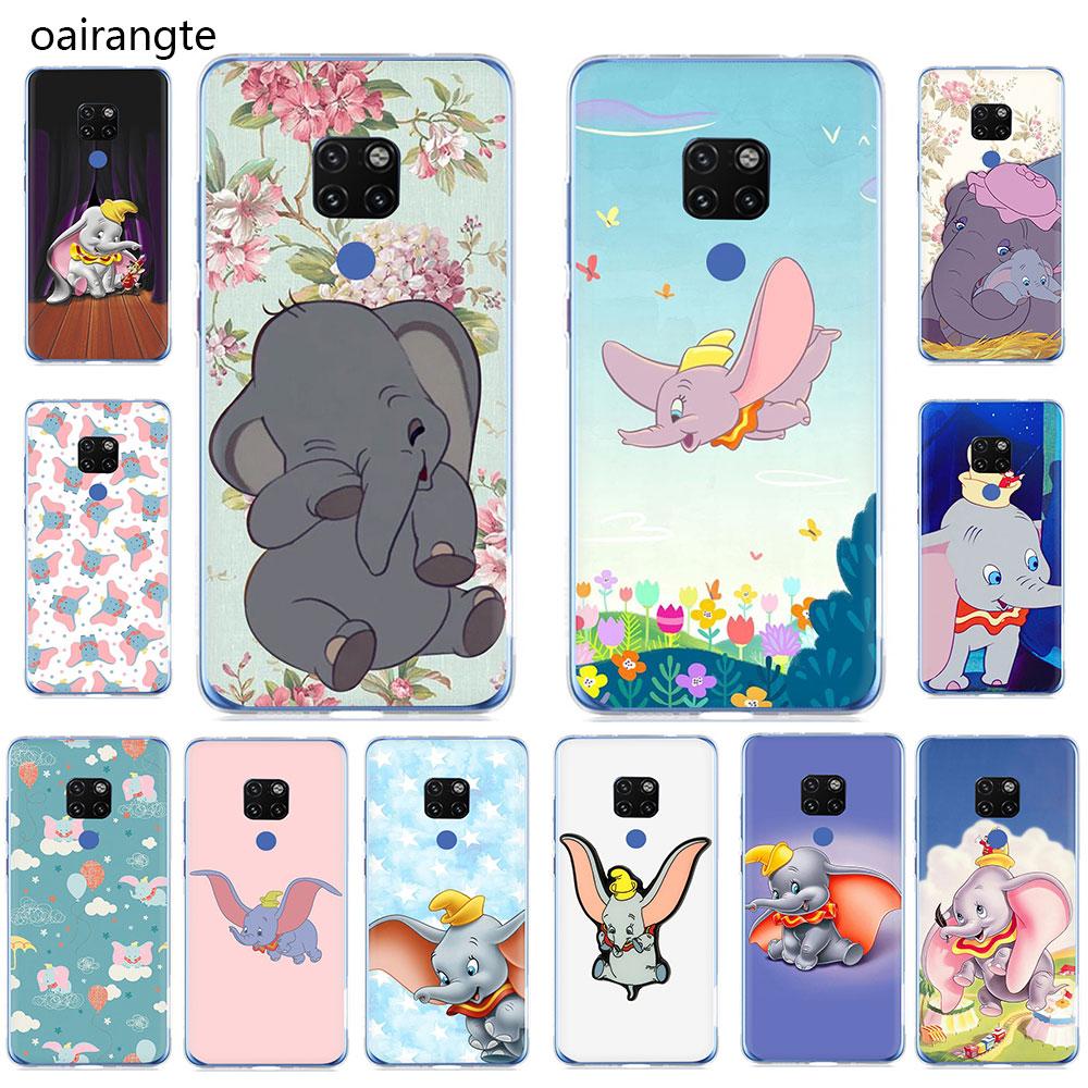 Dumbo Hard Phone Case For Huawei Mate 10 20 30 Pro Nova2i 3i 3 5i Lite Y5 6 7 9 2017 Prime 2018