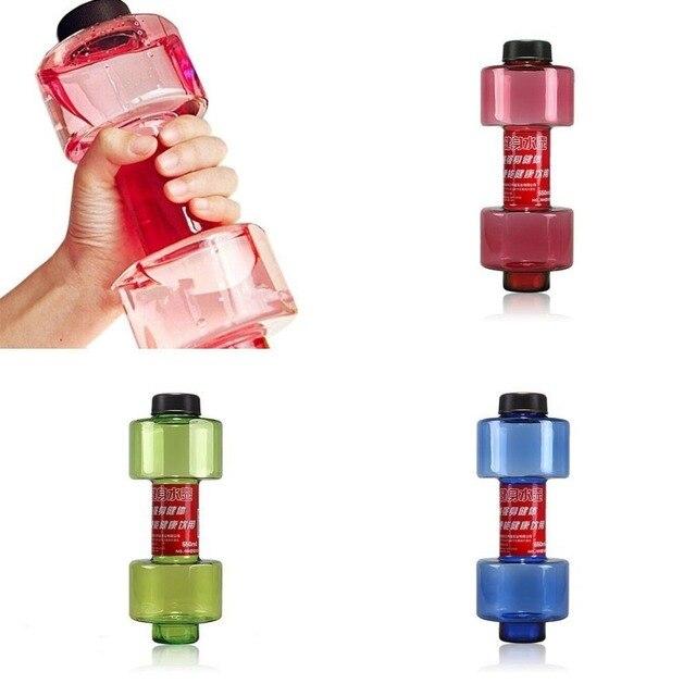 Sports Water Leakproof Portable Unbreakable Bottle 550ml 2