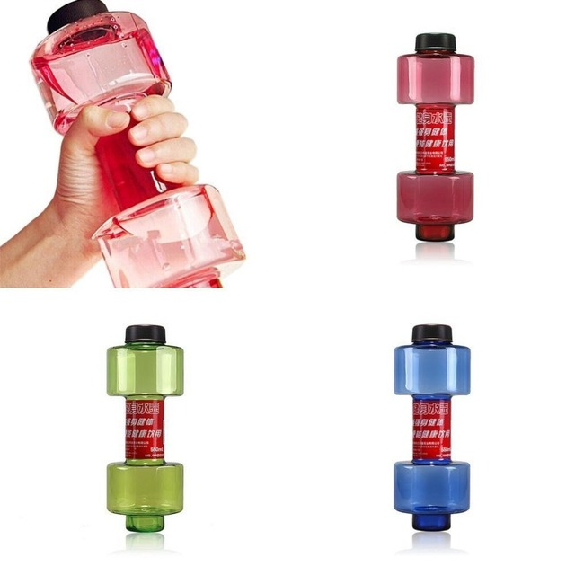Leak-proof Portable and Unbreakable Fitness Water Dumbbell