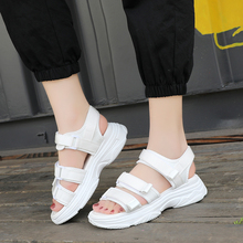Lucyever Summer Sandals Women Flat Shoes Open Toe Sandalias Woman Casual Shoes Ladies Platform Footwear sandalias mujer 2019