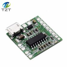 TZT NEW PAM8403 DC 5V Mini Class D 2x3W USB Power Amplifier Board DIY Bluetooth Speaker 2 * 3W Class D digital amplifier board(China)