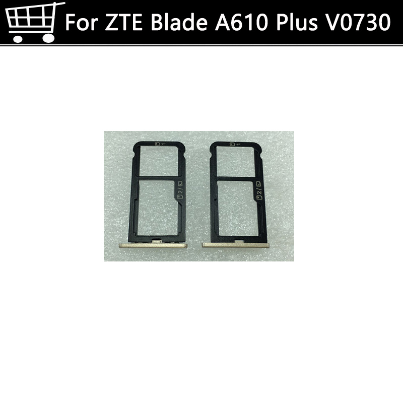 Sim Card Slot Tray Card Holder For <font><b>Zte</b></font> <font><b>Blade</b></font> A610 Plus <font><b>BLADE</b></font> Mobile Phone 5.5