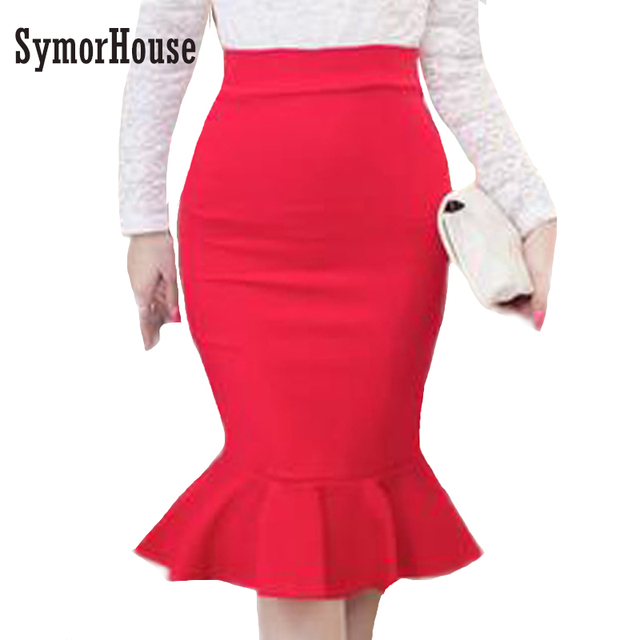 5752beac51 Red Bodycon Skirt – Fashion dresses