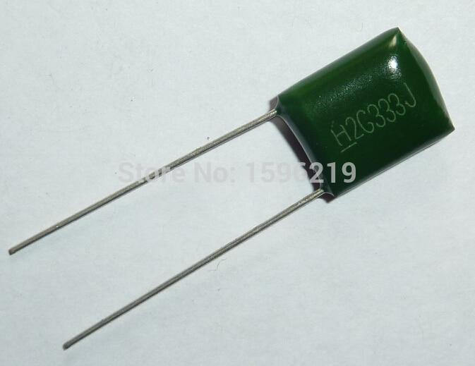 20PCS CBB21 394J 400V 0.39UF 390NF P15 Metallized Film Capacitor