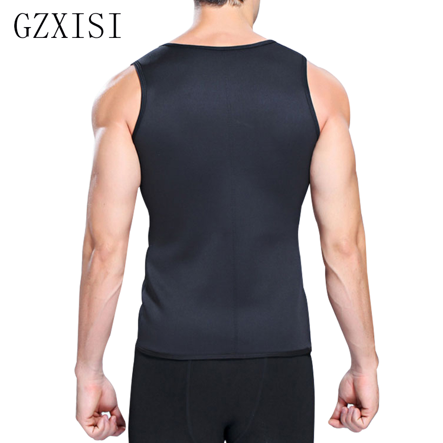 f3db8f6d28c Slimming Male Vest Body Shaper Men T shirt Sweat Suits Waist Belt Waist  Trainer Hot Shapers Waist Trainer Corset Sauna Corset-in Shapers from  Underwear ...