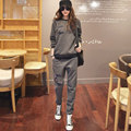 S-4XL New Women's Sweatshirt Tracksuits Spring 2017 Winter Fashion Casual Plus Velvet Sweatshirt + Pants Sportswear Sets Female