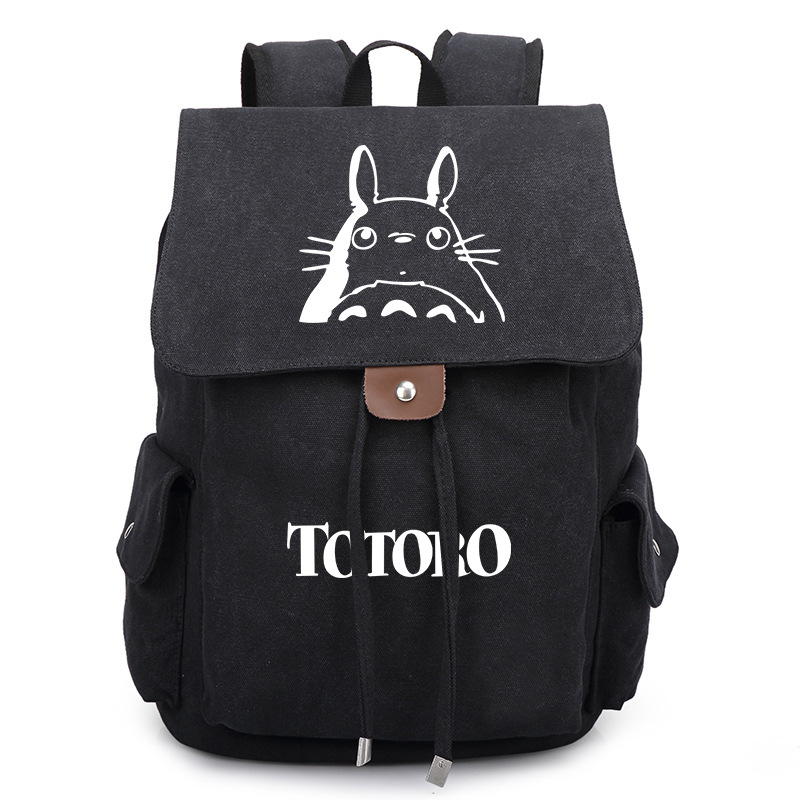 Anime My Neighbor Totoro Printing Backpack Kawaii School Bags Teenagers Bookbags Fashion Laptop Shoulder Bags High QualityAnime My Neighbor Totoro Printing Backpack Kawaii School Bags Teenagers Bookbags Fashion Laptop Shoulder Bags High Quality