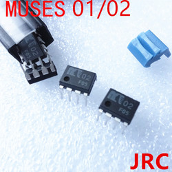 MUSES 01 / MUSES 02 op-amp   Dual Operational Amplifier  for DAC preamplifier  power amplifier  made in Japan free shipping
