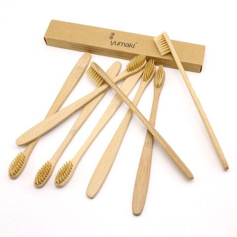 dr perfect 24 pcs lote bege fino pescoco escova de bambu eco friendly madeira de