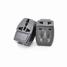 2PCS 10A 250V  Australia 3 Multi Outlet Electrical Power Plug Travel Adapter Multifunction Socket