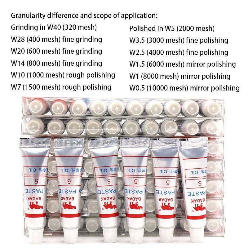 1 шт. зернистость 320-10000 W40-W0.5 алмазная полировальная паста для заточки иголок и полировка композитных материалов Стекло Металл Полировальный Инструмент