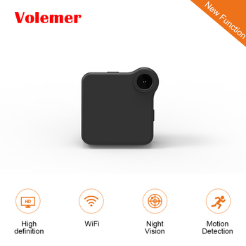 Volemer C1 Mini กล้องเว็บ WIFI P2P IP Mini กล้องบันทึกภาพ DV หลายแบบพกพากล้อง HD 720 จุด H.264 micro DVR Action กล้อง