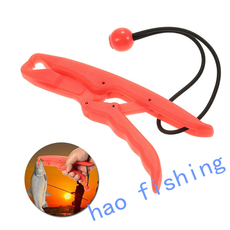 Fish Grip 17.5cm 54g ABS Plastic Lipgrip Floating Fish Grip Catfish Controller Holder Fishing Tackle Accessories Tool Pesca