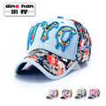 2016 New Hip-hop Hat Men's Spring and Summer New Hat Edition Cloth Cowboy Baseball Cap Outdoor Shade Sun Hats B-1665