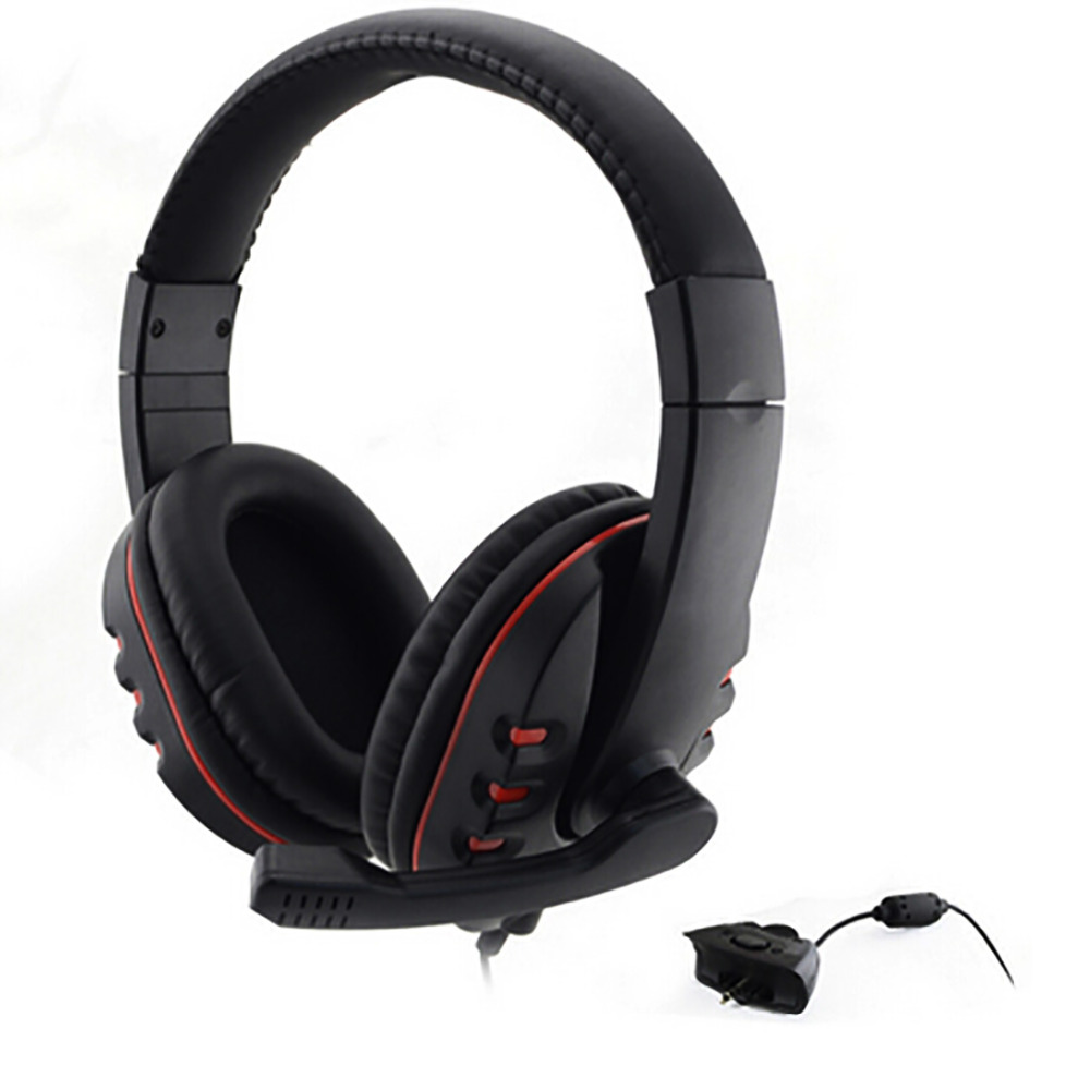 Marsnaska Gamer Over-ear Game Gaming Headphone Headset Earphone Headband with Mic Stereo ...