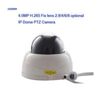 UVEIWN New 2.5 Inch 4.0MP 2.8mm/4mm/6mm/8mm fix lens H.265 P2P cloud IP camera MINI 4MP IP PTZ Dome Onvif Security Camera