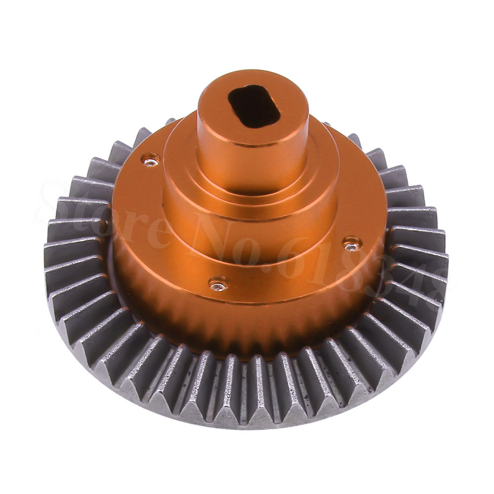 Aluminum Alloy 38T Diff Main Gear for HSP 94180 RC1:10 Rock Crawler Spare Parts