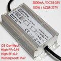 Изолированный светодиодный драйвер  3000mA  постоянный ток  18-35 в  100 Вт  110 в перем. Тока  220 В  водонепроницаемый IP67  для 10 серий  10 параллельных св...