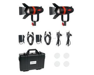 Image 5 - 2 Pcs CAME TV Boltzen 55w Fresnel Fokussierbare LED Bi Farbe Kit F 55S 2KIT Led video licht