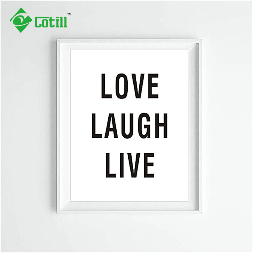 cotill love laugh live cuadros decoracion wall art canvas art print poster home decor wall pictures