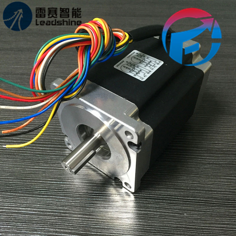 где купить Leadshine 2-phase Stepper Motor NEMA34 8.5NM 86HS85 (Bipolar)Series 4.9A 1203.6(8.5)N.M New дешево