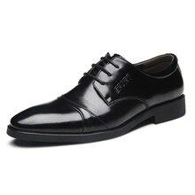 Мужская обувь роскошные дизайнерские брендовые черный коричневый Натуральная кожа вечернее торжественное платье оксфорды Дерби на плоской подошве Zapatos Hombre
