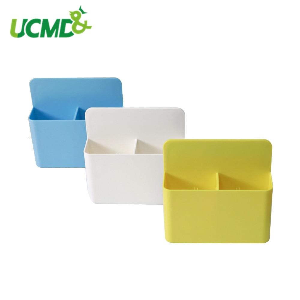 Creative Fridge Magnet Magnetic Storage Box Hanging Save Space Kitchen Container Box Eraser Chalk Pens Desk Organizer Box