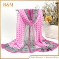 Hot Fashion Women Scarves Chiffon Polka Dot Scarf Lady Shawl Wraps Muffler