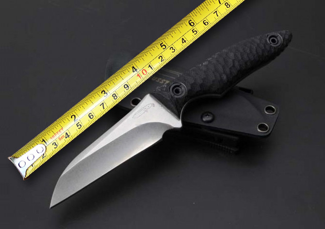 Small Hunting Fixed font b Knife b font D2 Steel Blade G10 Handle Camping font b