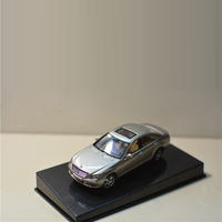 1:43 Alloy Autoart Mercedes BENZ S500 W221 Co Toy Sports Car Model Of Children's Cars Original Authorized Authentic Kids Toys