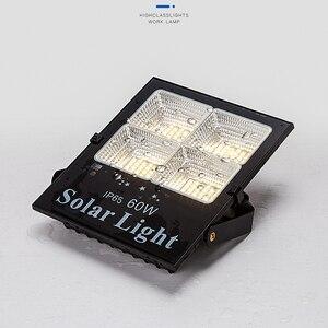 Image 2 - Holofote led de energia solar, quente/branco, regulável, para áreas externas, à prova d água, solar, para rua, para jardim